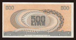 ITALY  P. 93a 500 L 1970 AUNC - [ 2] 1946-… : Républic