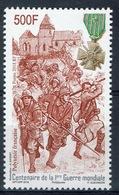 French Polynesia, World War I, 2018, MNH VF - French Polynesia