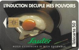 Telecarte 50 - Sauter - Advertising