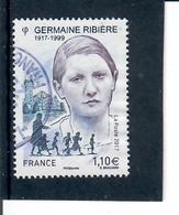 Yt 5129 Germaine Ribiere Portion De Cachet Rond - France