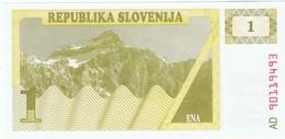 SLOVENIE - 1 Tolar - NEUF - Slovénie
