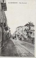 LIBAN LEBANON BEYROUTH RUE GOURAUD 1926 - Lebanon