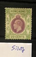 Si107 2 Hong Kong Collection GEORGE V High CV - Hong Kong (...-1997)