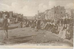 LIBAN LEBANON BEYROUTH ALLENBY STREET  ANIMEE 1926 - Lebanon