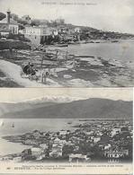 LIBAN LEBANON BEYROUTH 2 VUES DU COLLEGE AMERICAIN  1926 - Lebanon