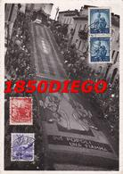 GENZANO DI ROMA - INFIORATA F/GRANDE VIAGGIATA 1948 ANIMAZIONE - Roma