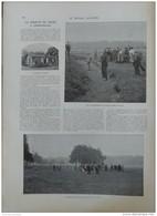 1902 COMPIEGNE LA SOCIETE DE SPORT GOLF - MARQUIS DE L'AIGLE  - GREVE DES MUSICIENS - SARAGOSSE LOS GIGANTES - 1900 - 1949
