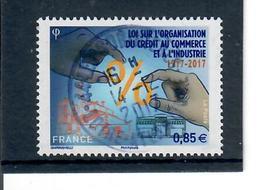 Yt 5132 Loi Sur L'organisation Du Credit-mains-joli Cachet Rond - France