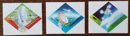 Vanuatu - YT N°1089 à 1091 - Espace / Satellite Intelsat 802 - 2000 - Neufs - Vanuatu (1980-...)