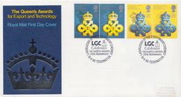Great Britain Set On Used FDC - Factories & Industries