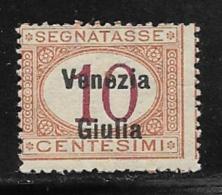 Italy Occupation Of Austria Venezia Giulia Scott # NJ2 MNH Italy Postage Due Overprinted, 1918 - Venezia Giulia