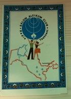 AK Usbekistan Tashkent , Map, Tanzpaar, Radio Tashkent Salem Aleikum - Uzbekistan