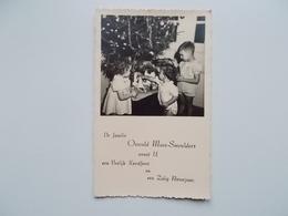 CPA Original -  Photo Veritable, Echte Foto: Familie MAES-SMEULDERS Wenst U Vrolijk Kerst & Zalig Nieuwjaar - Photographie
