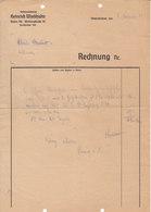 AD126 - Alte Rechung Transportunternehmung Heinrich Wiedhalm Baden, 1944 - Austria