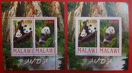 2010- MALAWI- Bears PANDA- Sheet MNH** - Malawi (1964-...)
