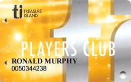 Treasure Island Casino Las Vegas, NV - Slot Card - Tiplayersclub.com Web Address - Casino Cards