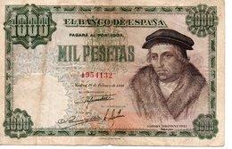 MIL PESETAS  ( 19/2/1946 ) - [ 3] 1936-1975 : Régimen De Franco