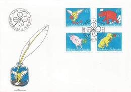 LIECHTENSTEIN FDC 1994  Letter Writing - FDC