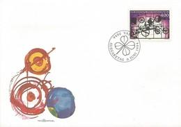 LIECHTENSTEIN FDC 1994   Hommage To Liechtenstein - FDC
