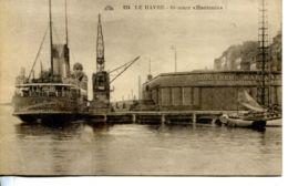 """N°66880 -cpa Le Havre -steamer """"Hantonia"""" - Commerce"""
