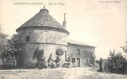 Charnay Lès Mâcon Château De La Tour De L'Ange BF Chalon Cliché 3186 - Altri Comuni