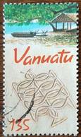 Vanuatu - YT N°1120 - Dessins Typiques Sur Le Sable - 2001 - Oblitéré - Vanuatu (1980-...)