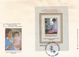 FYROM FDC 1992 Week Of Fight Against Tuberculosis (1992) - Macedonia