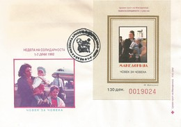 FYROM FDC 1992 Week Of Fight Against Tuberculosis (1992) - Macédoine