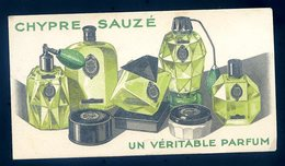 Carte Parfumée Chypre Sauzé Un Véritable Parfum     GX18 - Cartes Parfumées