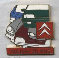 Pin's Voiture Automobile Citroën Aulnay 20 Ans - Citroën