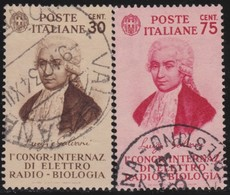 Italy .  Yvert    .     344/345       .    O   .   Cancelled   .    /   .   Oblitéré - 1900-44 Vittorio Emanuele III