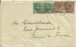 1925  Gold Coast  Letter To Paris, France - Côte D'Or (...-1957)