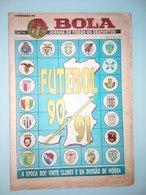GUIDE DU CHAMPIONNAT DU PORTUGAL 1990/1991 - Livres, BD, Revues