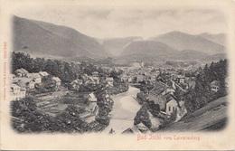 Reliefkarte BAD ISCHL Vom Calvarienberg (OÖ) - Verlag Rehfeld U.Resch Dresden, Gel.1907, Gute Erhaltung - Bad Ischl