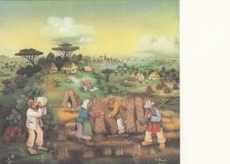 Mijo Kovacic KORNERNTE Öl-Hinterglas - Ungel., Gute Erhaltung - Malerei & Gemälde