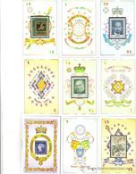 BARAJA ESPAÑOLA, PLAYING CARDS DECK, DEDICADA A LA FILATELIA CLASICA - Barajas De Naipe