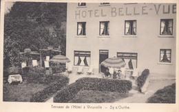 Terasse De L'Hôtel à Vieuxville Sy S/ Ourthe Het Belle-Vue - Ferrieres