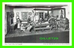 QUÉBEC - FROM THE 300,000$ WORLD FAMOUS POTVIN EXHIBIT - NEW YEAR'S EVE IN CANADA - - Québec - La Cité