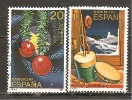 España/Spain-(usado) - Edifil  2925-26 - Yvert  2540-41 (o) - 1931-Hoy: 2ª República - ... Juan Carlos I