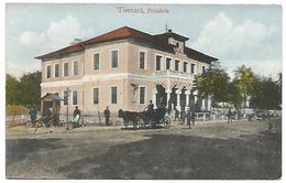 CARTE POSTALE OF TECUCI ( ROMANIA ) PRIMARIA , 1920 . - Romania