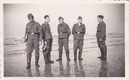 PHOTO ORIGINALE 39 / 45 WW2 WEHRMACHT FRANCE SAINT BRIEUC - Krieg, Militär