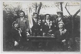 25 GONDENANS-MONTBY . Les Conscrits , Carte-Photo , Identifiés Sur Description , Années 10 , état  Extra - France