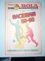GUIDE DU CHAMPIONNAT DU PORTUGAL 1989/1990 - Livres, BD, Revues