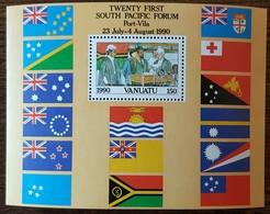 Vanuatu - YT BF N°16 - Forum Du Sud Pacifique - 1990 - Neuf - Vanuatu (1980-...)