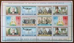 Vanuatu - YT BF N°17 - Général Charles De Gaulle - 1990 - Neuf - Vanuatu (1980-...)