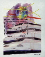 2000- Equatorial Guinea- Train- Sheet MNH** - Guinea Ecuatorial