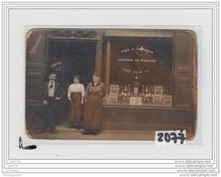 9734   AK/PC/CARTE PHOTO A IDENTIFIER/2077/EPICERIE - Cartoline