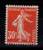 YV 160 N** Semeuse Très Bien Centrée Cote 20 Euros +50% - France