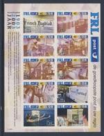Nederland Netherlands Pays Bas 2003 ** 100 Jaar Friesch Dagblad 1903 - 2003 / Newspaper / Zeitung / Journal - Schrijvers