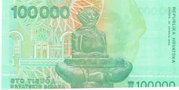 CROATIE - 100 000 Dinara - NEUF - Croatia
